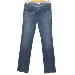 "26""/31"" Paige Straight Leg Stretch Melrose Jeans"